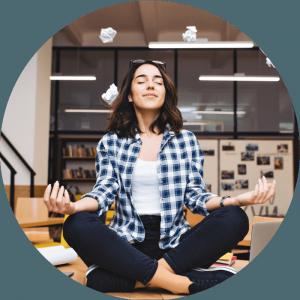 relax meditation focus