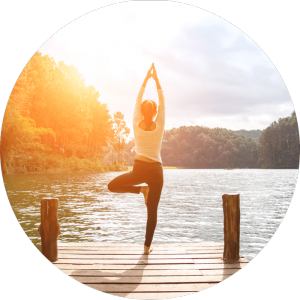 yoga balanced