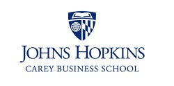 logo for JHU Carey Business School (Finance MBA)